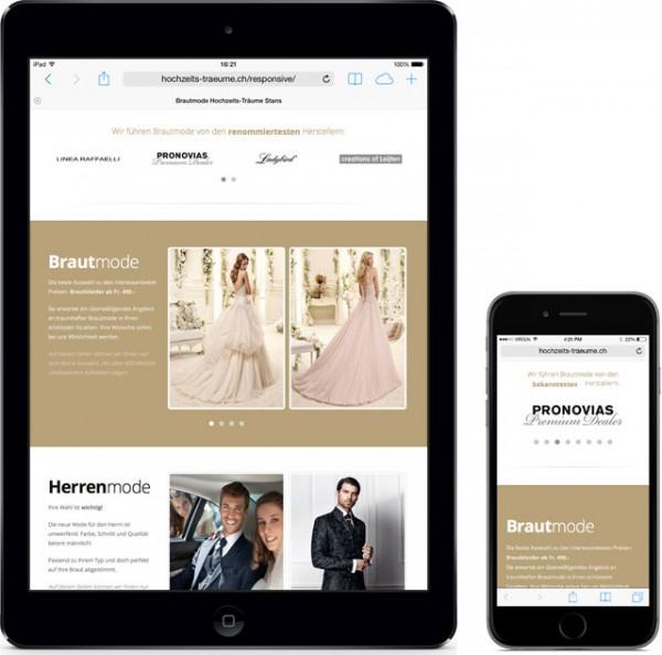 Hochzeits-Träume iPad und iPhone