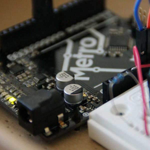 ... mit einem Arduino Mikrocontroller