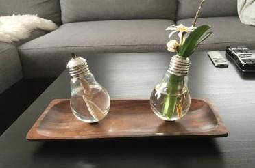 DIY Glühlampen-Kerze