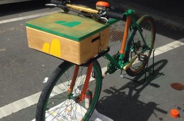 Interaktives Fahrrad